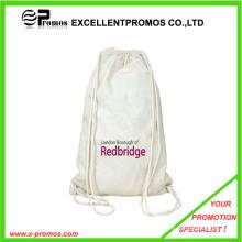 Eco-Friendly et de haute qualité en gros en coton tissu Drawstring Bag (EP-B9110)