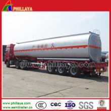 Semirremolque de tanque de combustible de acero al carbono 50000 litros