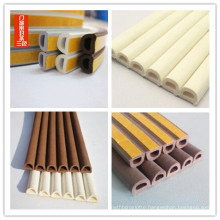 D Shape EPDM Extruded Adhesive Foam Rubber Strip