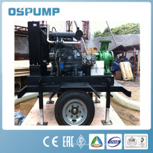 Water cooled diesel trailer water pump