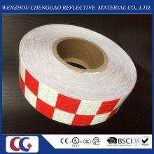 Gittermuster reflektierende Sicherheitswarnung Checkered Tape