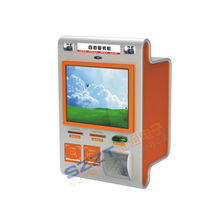 Zt2830 Wall Mounted Financial Payment Retail Mall Kiosk With Barcode Reader
