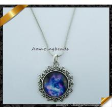 Высокое качество 2015 Новая мода Звездное небо кулон ожерелье (FN039)