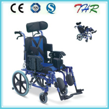 Thr-958L Reclining High Backrest Type Wheelchair for Cerebral Palsy Children