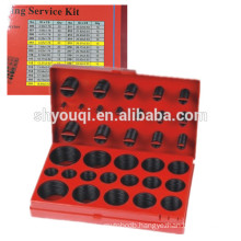 Hot Metric standard 32 sizes o ring seal kit /Non-standard Quantity oring sealing tool box Rubber NBR Repair O-ring set