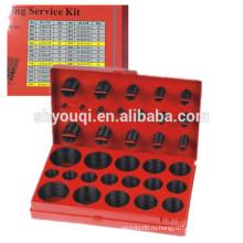 Горячая Метрический стандарт 32 размеры колцеобразного уплотнения комплект /нестандартная Количество уплотнительное кольцо уплотнение ящик для инструментов резина NBR ремонт уплотнительное кольцо набор