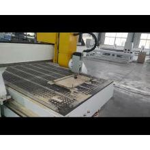 Mobília de madeira do quarto da cinzeladura da máquina do cnc de 1300 * 2500mm