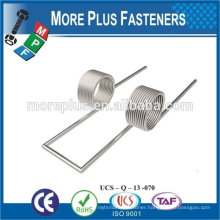 Made IN TAIWAN high qualiy metal spring stainless steel spring Double Torsion Spring