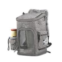 Irline Approved Custom Color Logo Foldable Portable Soft Pet Carrier Dog Cat Travel Bag