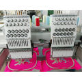 2 head 12 Needles Flat Computer Embroidery Machine