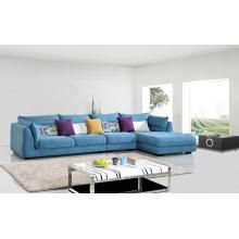 Set de canapé en tissu de salon de salon de 3 places populaire