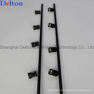 Schwarzes flexibles LED-Schrank-Scheinwerfer für Schaukasten-Beleuchtung Gebrauch