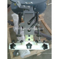 máquina de impressão giratória manual da tela da camisa de t com micro registo
