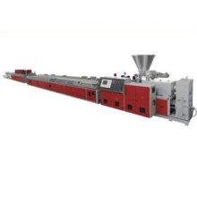 Máquina del extrusor del plástico de madera / máquina del extrusor del perfil de WPC