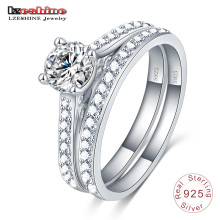 Hearts&Arrows  Cz Zircon Silver Jewelry Ring (SRI0023-B)