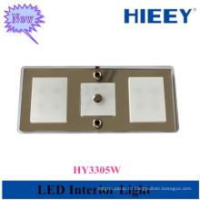 Внутренний светодиодный фонарь с сенсорным выключателем Новый светодиодный потолочный светильник для салона