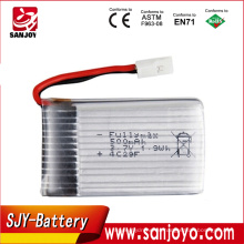 Batería de repuesto de la batería de 3.7V 600mAh Syma X5C X5 batería de Li-Po de Quadcopter para X5C