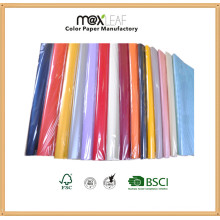 Tamanho 520 * 770mm Color Wrapper Paper
