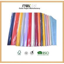 Размер 520 * 770мм Цветной оберточной бумаги