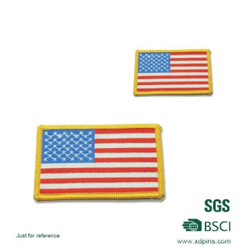 Kundenspezifische Flag Logo Army Stickerei Patch