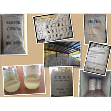 Good Quality for Adhesive Type HCPE Resin, Adhesive High Chlorinated Polyethylene Adhesive Type HCPE Resin export to Benin Supplier