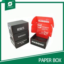 Diseño personalizado Ambos lados Impreso Box Color Tuck-Top Box