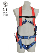 Construction fall protection full body safety harness