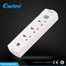 Enchufe universal usb cargador toma de corriente eléctrica impermeable