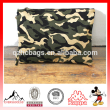 Outdoor dinner party bag Camo canvas clutch bag