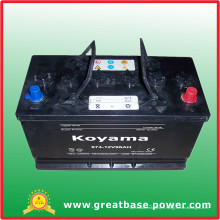 674-12V96ah-Batterie automobile pour l'Afrique du Sud