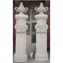 Stone Sandstone Granite Marbre Entrance Gate for Doorway Archway (DR046)
