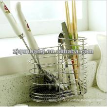 Kitchen Chopsticks Rack/Iron Wire Chopsticks Holder/Spoon Holder