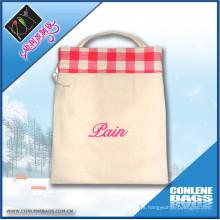 Saco de saco de algodão promocional saco