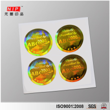 Custom made 3D Hologram Sticker for Personal Care
