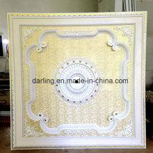 Большой размер 2 * 2 метра Белый квадрат PS Художественный потолок Madellion