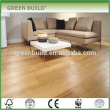 Plancher de bois d'ingénierie de chêne naturel de peinture plate de plancher
