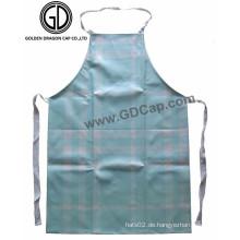New Style Sky Blue Checked Polyester Painter Küche Lätzchen Schürzen