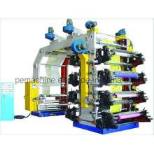 Máquina de impressão Flexographic da cor da película 8 de alta velocidade (HYT-8600-81600)