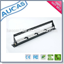 china factory low price new design network / krone /fiber optic patch panel