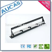 China fábrica preço baixo novo design rede / krone / painel de patch de fibra óptica