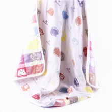 6 Layers Muslin Animal Design Baby Blanket Baby Muslin Wraps