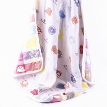 6 Camadas Muslin Animal Design Baby Manta Bebê Musselina Wraps