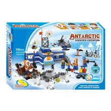 Boutique Baustein Spielzeug-Antarktis Wissenschaftliche Expedition 10 mit 6PCS Staff