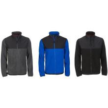 Hombres Zip completo hasta chaqueta de lana Sudadera