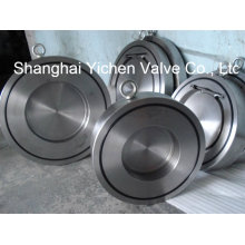 High Quality Sandwich Type Single Disc Swing Check Valve (H74)
