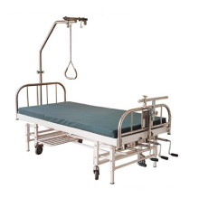 Stainless-Steel 4-Crank Orthopedics Traction Bed (THR-OTB03)