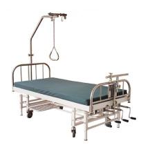 Нержавеющая сталь 4-х ходовая ортопедическая тяговая кровать (THR-OTB03)