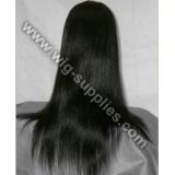 Silky Straight Soft 100% Vigin Human Hair Full Lace Wig
