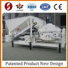 Planta móvil Calculadora de hormigón Mezclador de cemento