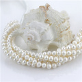 7-8mm en gros blanc perles de perles d'eau douce naturelles